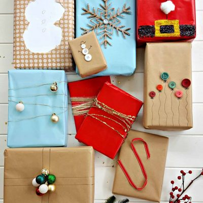 9 Christmas Gift Wrapping Ideas.