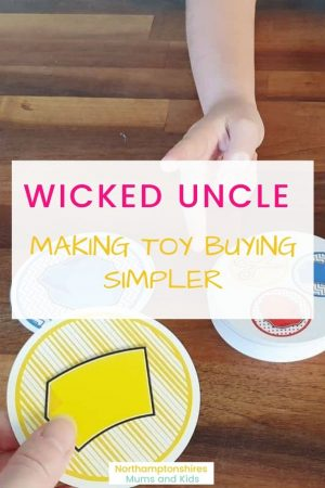 Wicked Uncle is the perfect site for gift buying. From the homepage you can filter by age (0-150) or gender. There is a great range of creative gifts. www.northamptonshiremumsandkids.co.uk