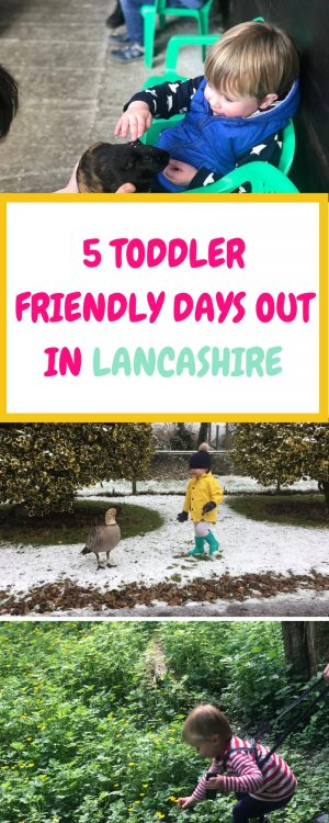 5 Toddler Friendly Days Out in Lancashire. For more realistic parenting info visit www.northamptonshiremumsandkids.co.uk