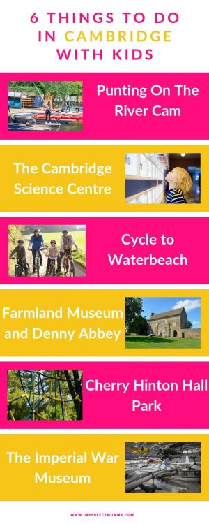 Cambridge is one of the best cities in the UK for a family break. The city has a unique English charm, you just don't experience in larger cities. For more realistic parenting visit www.northamptonshiremumsandkids.co.uk