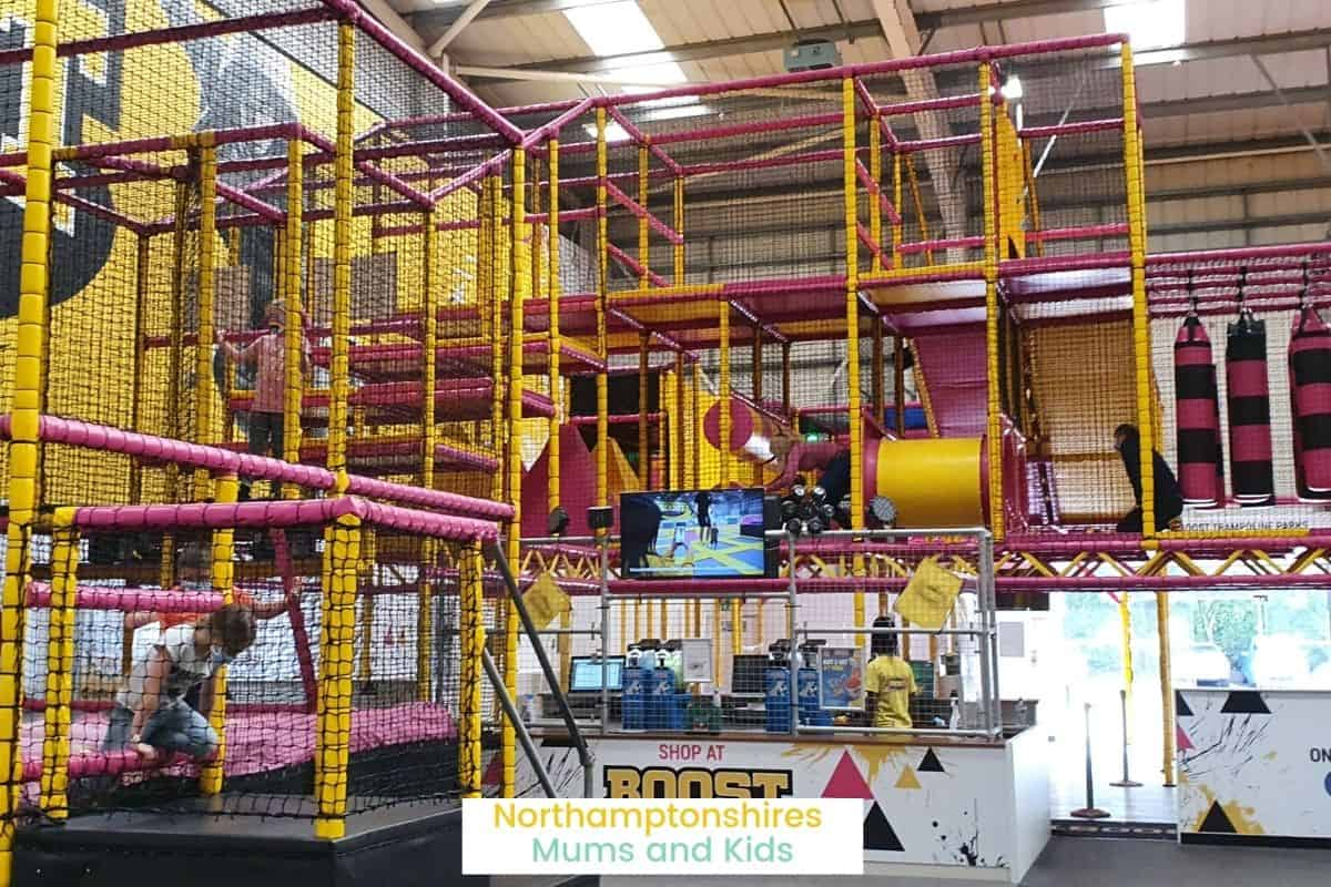 Boost Trampoline Park, is more than just trampolines, there is a giant rat run, a fun slide, a dodgeball court and a battle beam! For more ideas of what to do in Northampton with kids check out www.northamptonshiremumsandkids.co.uk