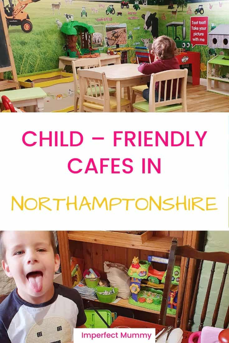 As a Mum it's important to get out of the house regularly. This can be hard so I have put together this list of child-friendly cafes in Northamptonshire.