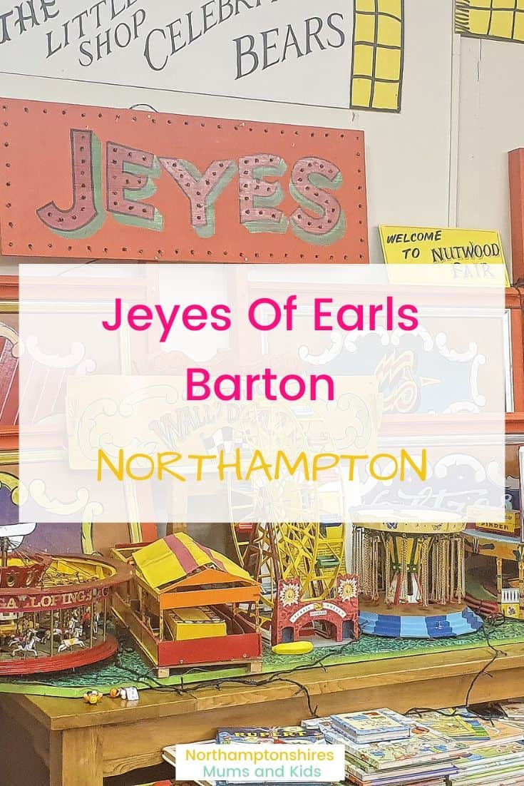 From the outside Jeyes of Earls Barton looks like your average coffee shop but inside it's a magical place for both adults and children! For more great local reviews check out https://northamptonshiremumsandkids.co.uk/