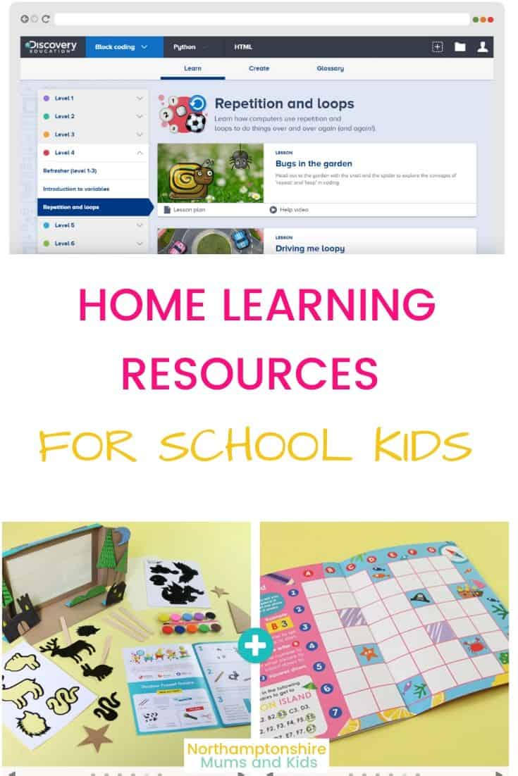 Home Learning Resources For Kids