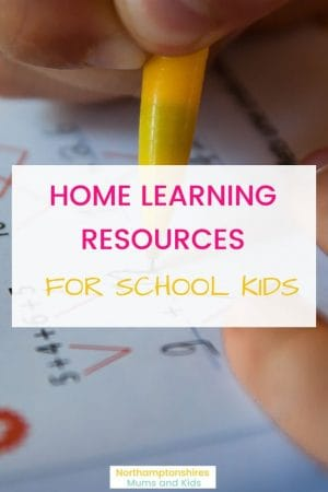 When Kids are unexpectedly off school for long periods of time we may need to continue their education at home. Here are some home learning resources to use. For more educational ideas and activities check out www.northamptonshiremumsandkids.co.uk