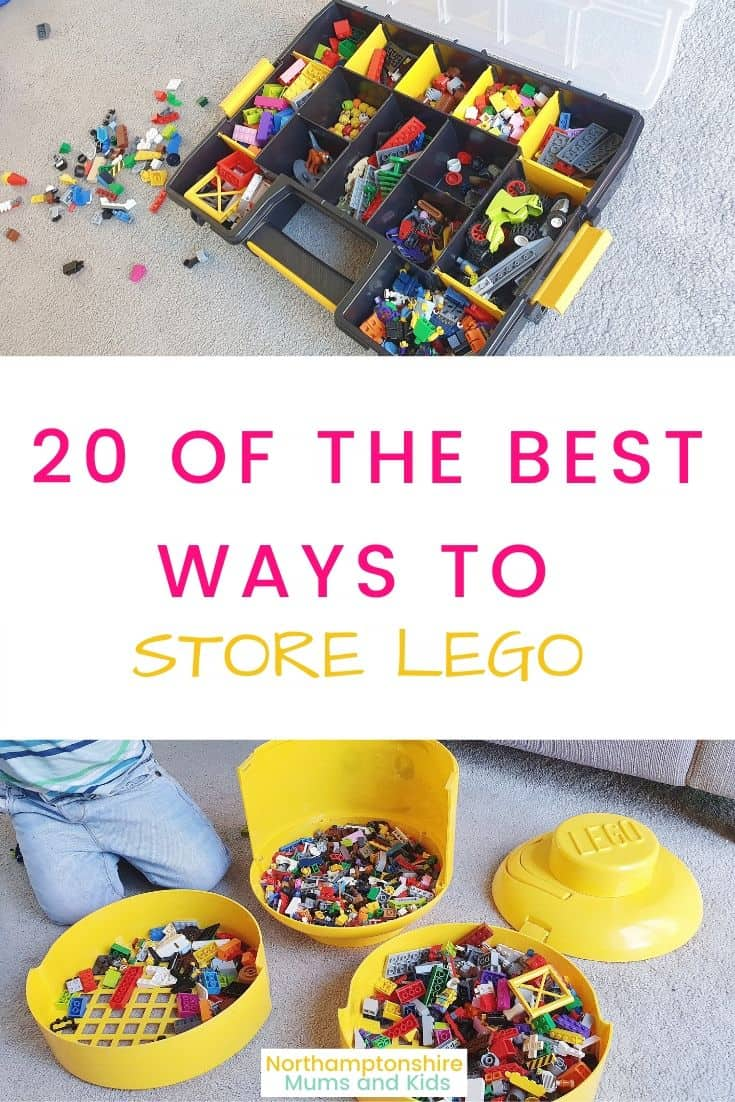 20 Of The Best Ways To Store Lego.