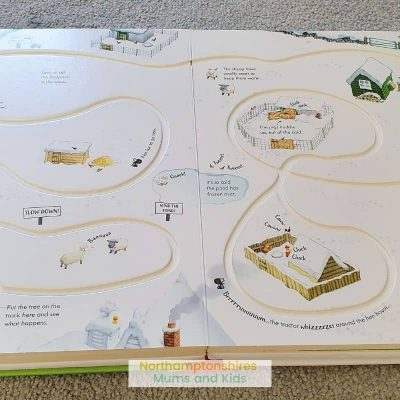 Wind Up Tractor Book Review (Poppy & Sam's)