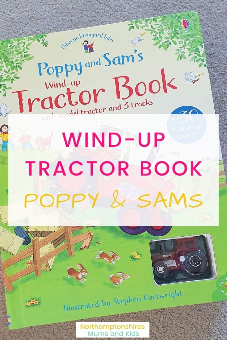 Wind Up Tractor Book Review (Poppy & Sam\'s)