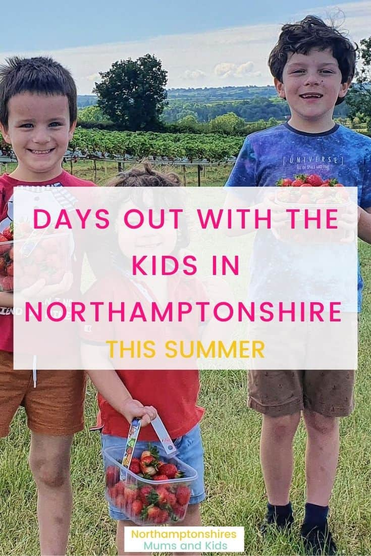 Summer Days Out With The Kids In Northants