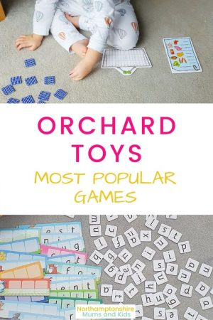 Orchard toys are popular with all families but which of their games are the number one favourites to both Mums and Kids? For more check out www.northamptonshiremumsandkids.co.uk