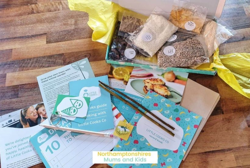 Little Cooks is a kids healthy baking kit. All recipe ingredients are organic, and you get extras that teach children to grow their own food! www.northamptonshiremumsandkids.co.uk