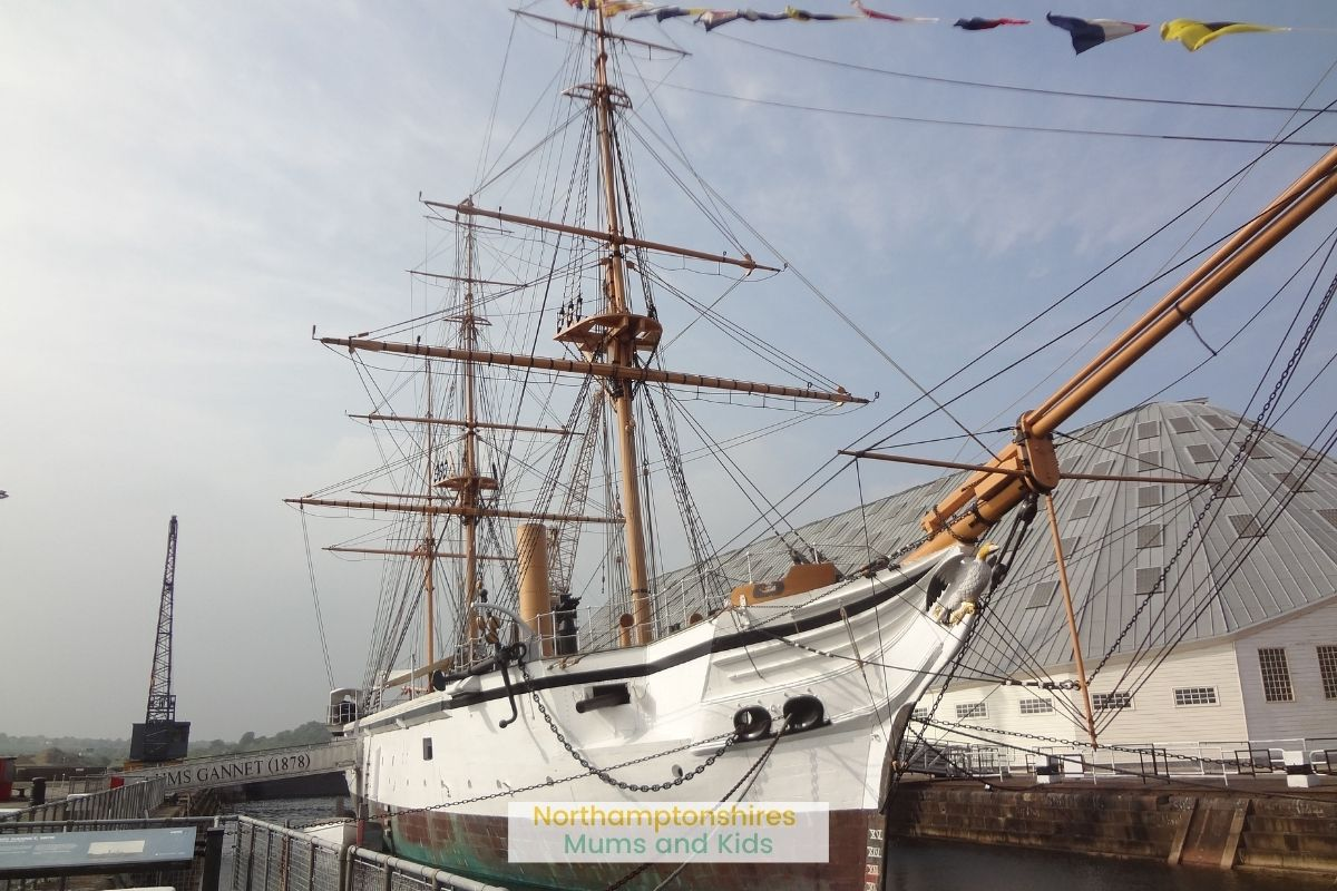 There is plenty to do for a family day out in Kent including a castle, gardens a brewary plus lots of activities at the dockyard.
