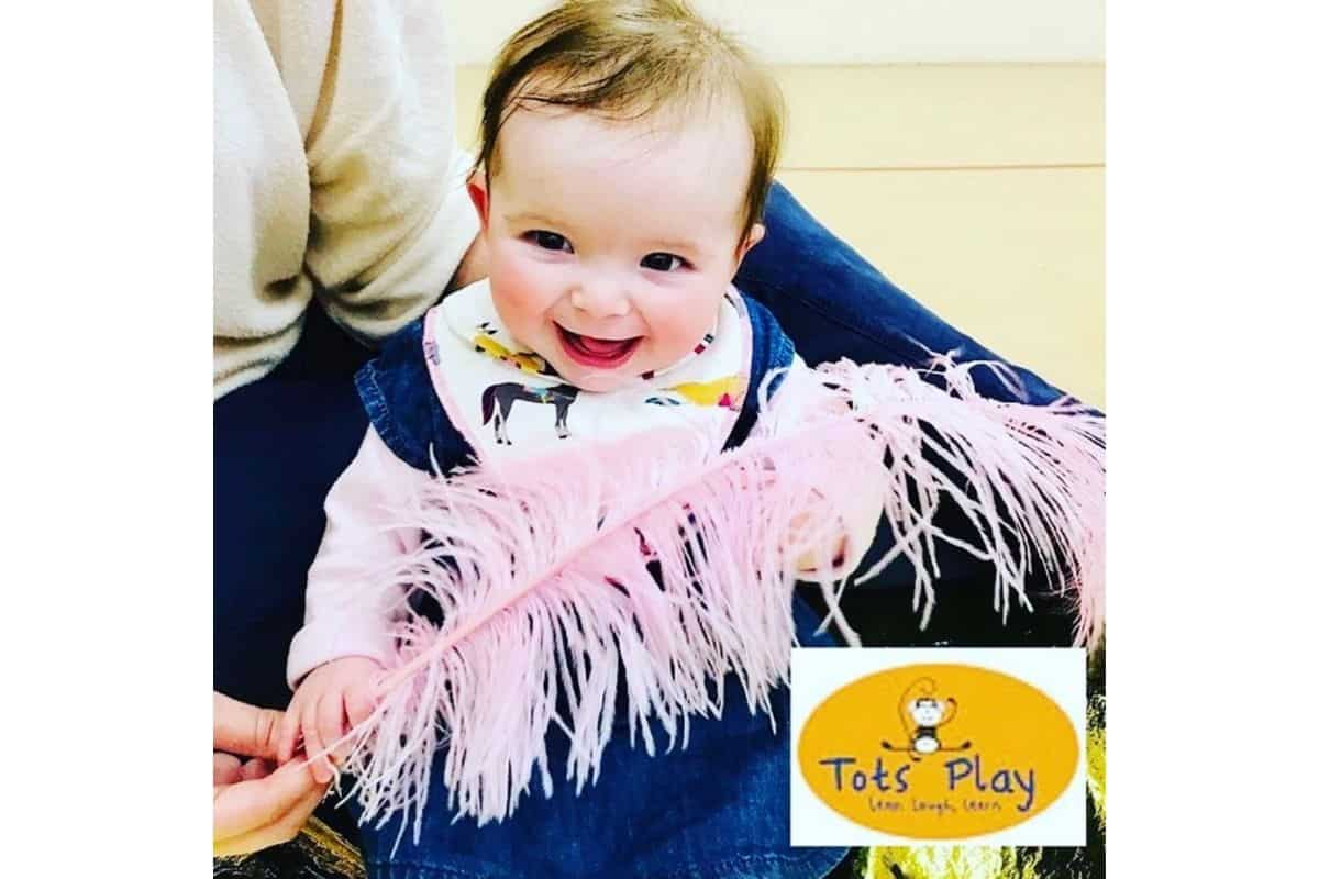 Tots Play offer weekly baby sensory classes from newborn to 2 1/2 years old. Located centrally in Delpare Abbey.