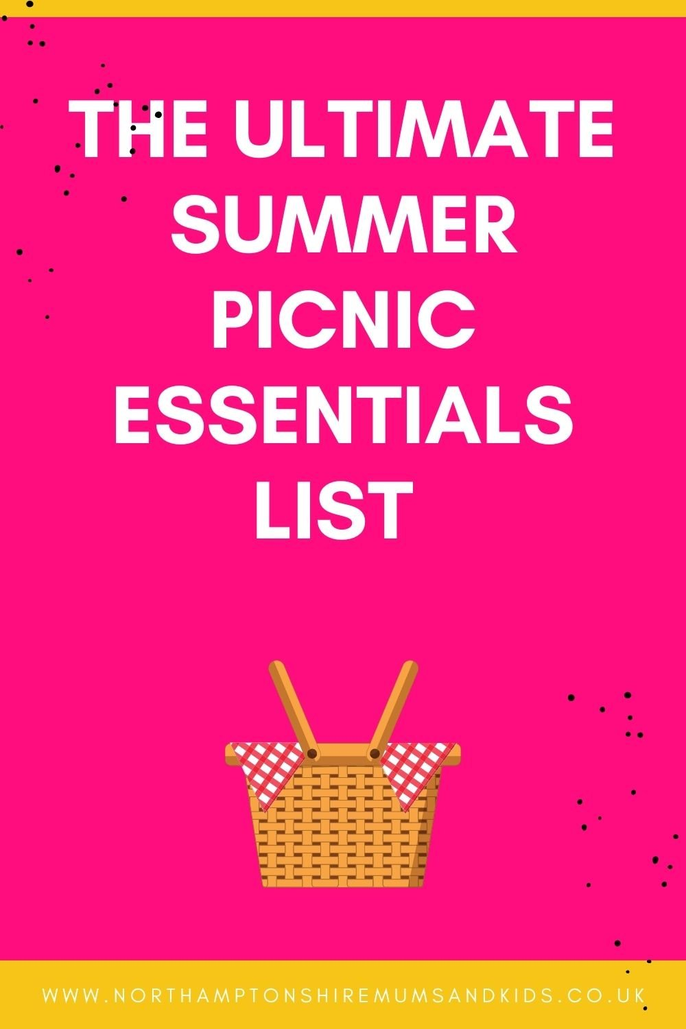 The Ultimate Summer Picnic Essentials List For A Fantastic Family Day Out