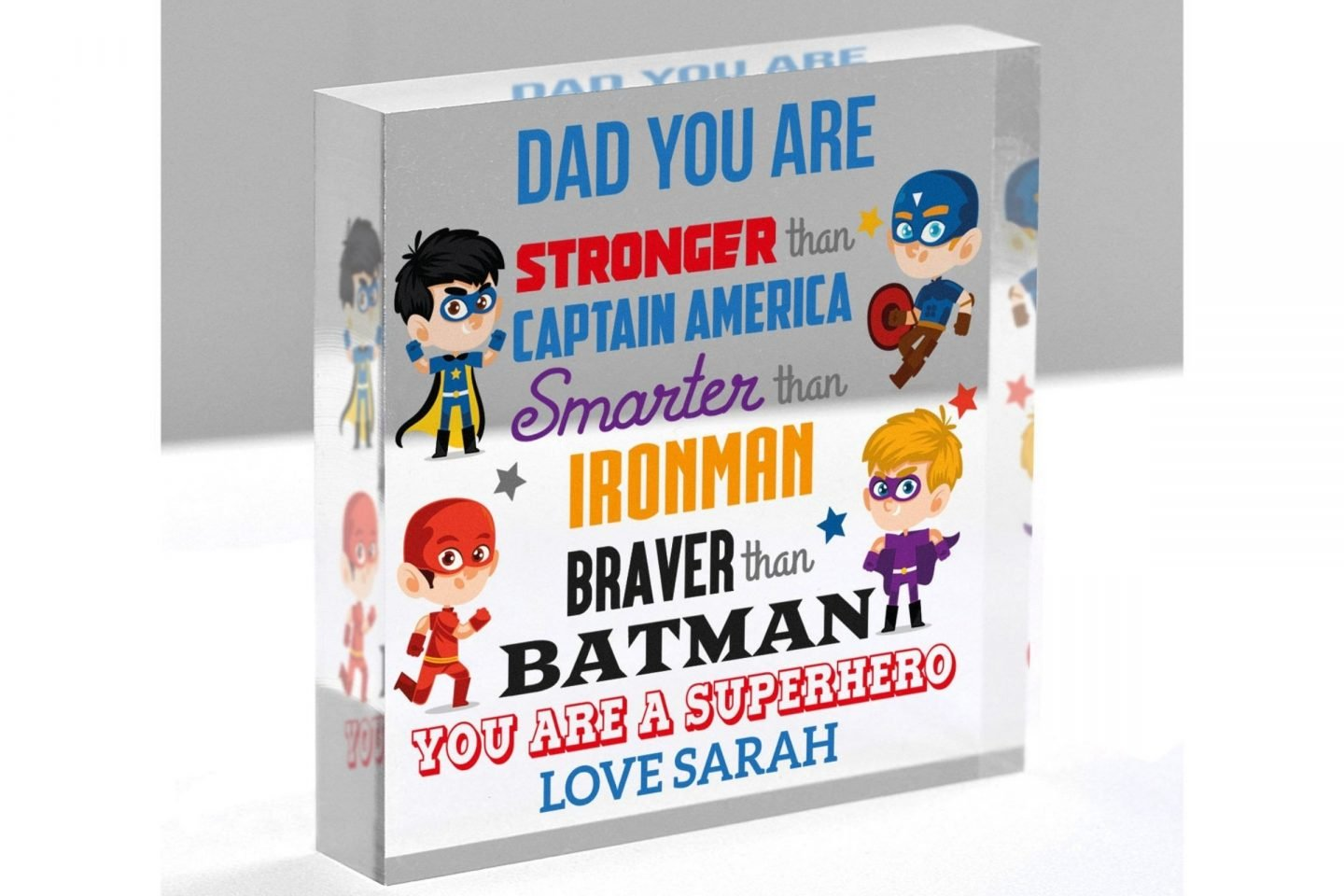 Persoanlised Fathers Day Gifts are a great way to make sure Dad knows he is loved and appreciated on Fathers Day.