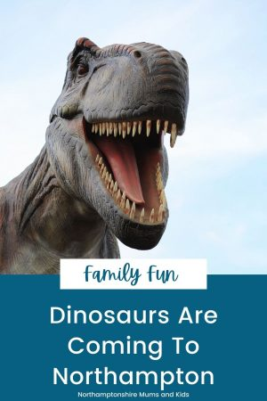 There will be dinosaurs in Northampton this July. Expect, activities, special jurassic themed offers, photo opportunities and more.