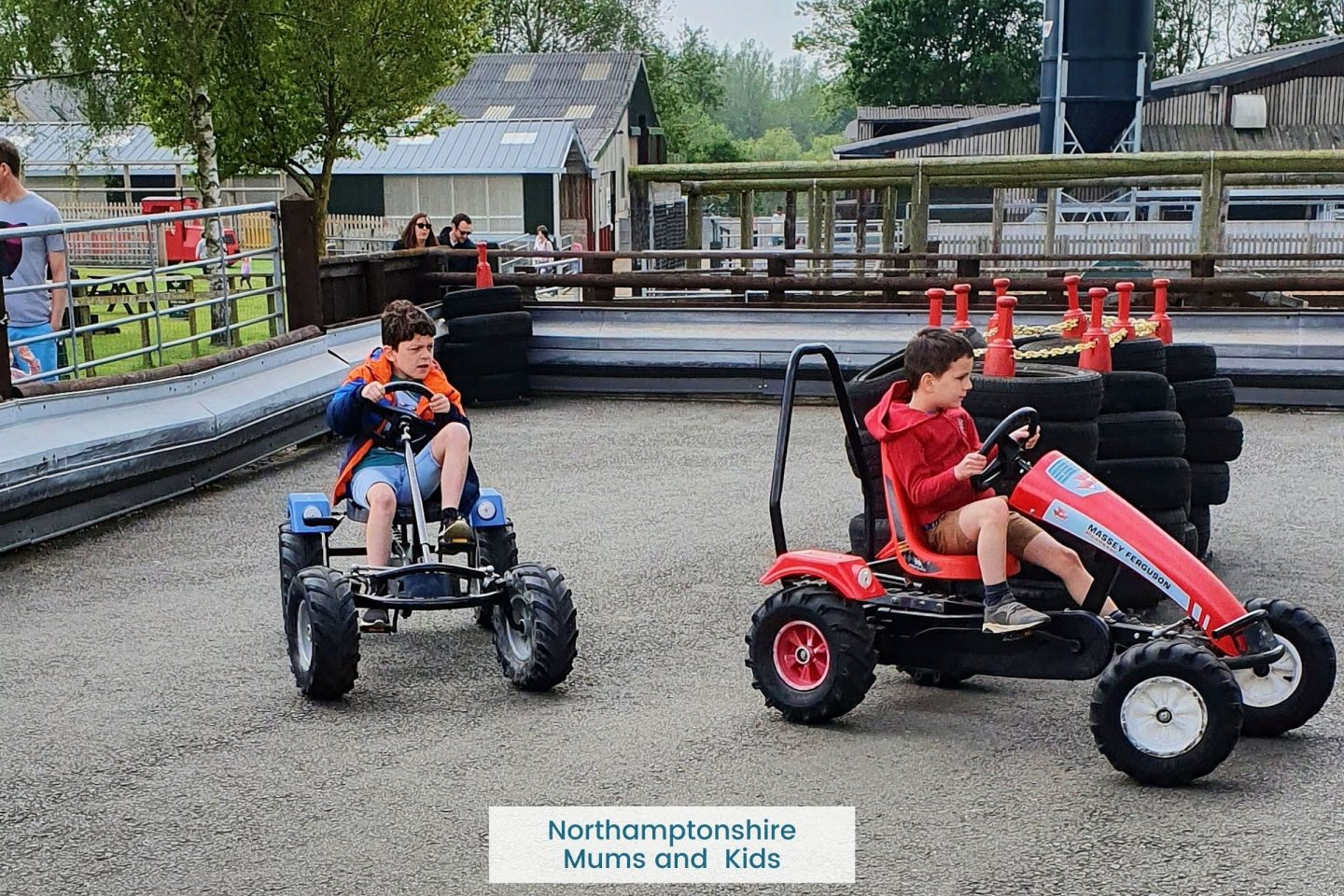 Rookery Open Farm is a great half day out. With animals to see, petting corners, large indoor and outdoor play areas, pedal tractors and sand play.