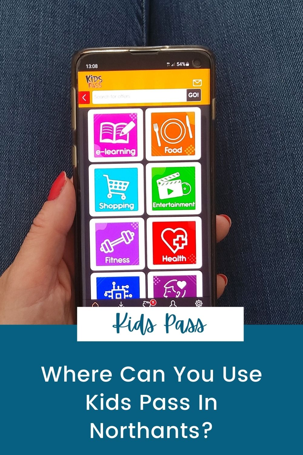 Where Can You Use Kids Pass In Northants?