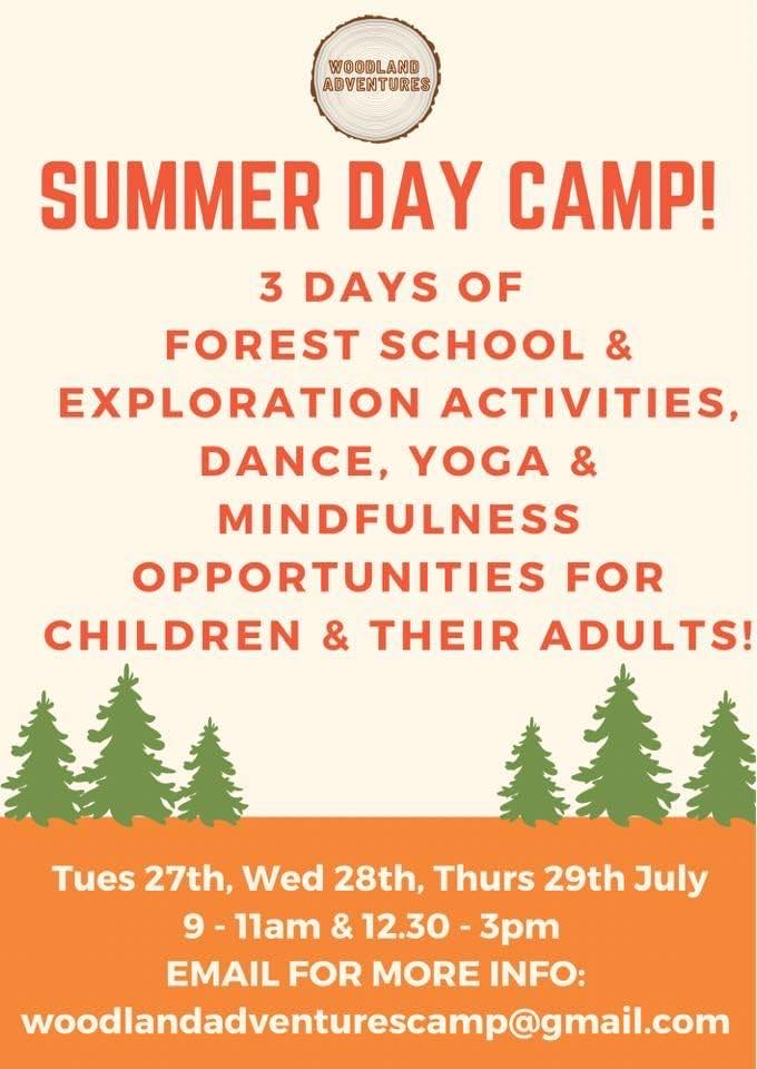 Forest School Holiday Camp in Northamptonshire