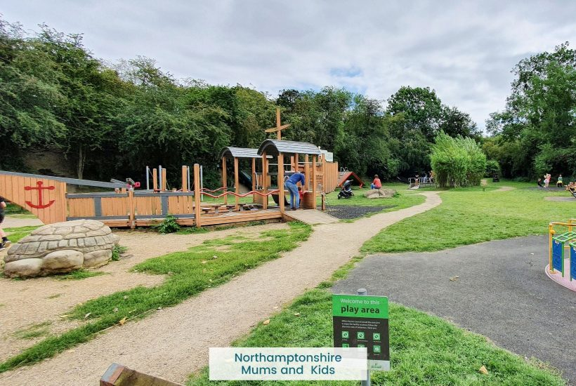 Emberton country park features a great walk/ cycle route with multiple play areas and a cafe along the way.