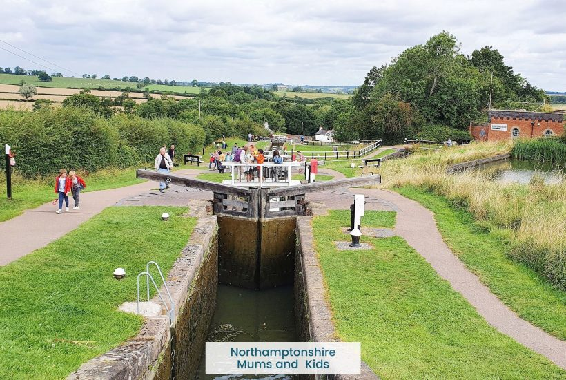Foxton Locks is Britains largest canal lock staircase. It's fun for the kids to open the locks, get some icecream or enjoy a scenic lunch.
