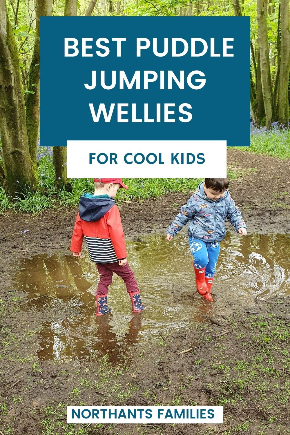 The Best Puddle Jumping Wellies For Cool Kids.